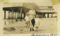Galveston 1920 | birdonthestreet | Flickr Home History, Texas History, Local History, Galveston Texas, Galveston Island, Old Pictures, Old Photos, Visit Texas, Texas Bluebonnets