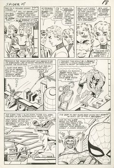 AMAZING SPIDER-MAN #25 PAGE 14 by Steve Ditko
