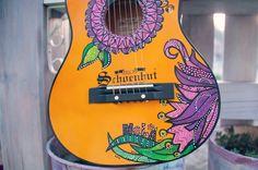 #posca #handmade #painted #guitar #kids #uniposca #handpainted #personalised