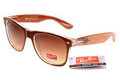 Ray-Ban zx300 Deep Brown Pattern Frame Tawny Lens RB1344