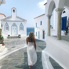 #andros #greekislands #greece Greece Trip, Greece Travel, Andros Greece, Amazing Places, Beautiful Places, Greek Girl, Sore Eyes, Greece Islands, Honeymoon Destinations