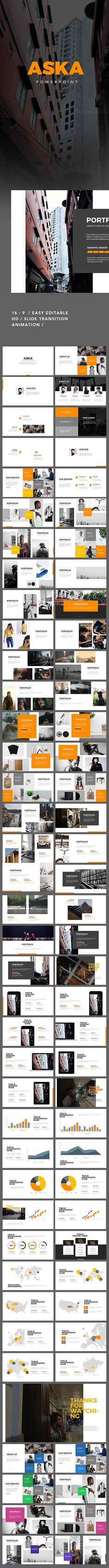 Aska Powerpoint Presentation - Creative PowerPoint Templates Download here: https://graphicriver.net/item/aska-powerpoint-presentation/19803417?ref=classicdesignp