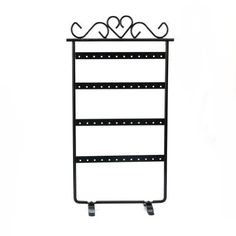 48 Hole Earrings Ear Studs Display Rack Stand Holder Jewelry Organizer New - Black Pinzhi(TM) http://www.amazon.co.uk/dp/B00HPQYF1W/ref=cm_sw_r_pi_dp_bRSNwb00DFK9D