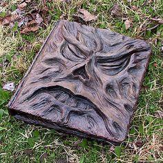 Afficher l'image d'origine Ex Libris, Necronomicon Lovecraft, Sculpture Lessons, Sculpture Ideas, Dark Art Drawings, Journal Covers, Book Covers, Diy Notebook, Cool Books