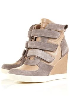 acrobat padded velcro trainers, $156.00, topshop (i hated this isabel marant inspired trend at first, but it's reluctantly growing on me. these are the best marant knock-offs i've found yet. -i.e. they don't cost an entire paycheck- win.