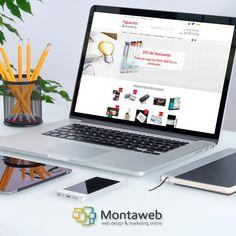 Nueva #tiendaonline para la tienda Figuerola Belles Arts, de materiales para las Bellas Artes y las manualidades.  Todos los detalles sobre este complejo proyecto #web. #diseñoweb #posicionamiento #SEO #marketingonline