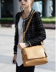 bolsa feminina importada baú transversal moda frete grátis