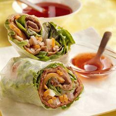 Vietnamese Beef & Vegetable Spring Rolls http://wm13.walmart.com/Food-Entertaining/Recipes/22165