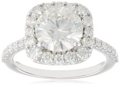 2 carat engagement ring from the  Amazon Curated Collection