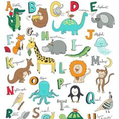 We love this Animal ABC's fabric by Whistler Studios for @windhamfabrics! The full print goes A-Z! What a great way to teach your tot the alphabet!  #alphabet #animal #animals #abcs #learning #education  #quilt #quilts #quilting #sew #sewing #craft #crafting #diy #fabric #crafts #patchwork #quilter #stitch #cotton #decor #homedec #apparel #fashion #creativity #creative