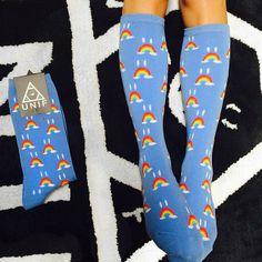 unif I dig your Sadditude. #UNIF Sad Bow Socks www.unifclothing.com