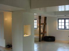 panDOMO Wall with seamless panDOMO Loft flooring.