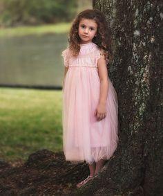 Another great find on #zulily! Pink Allessandra Dress - Infant, Toddler & Girls #zulilyfinds