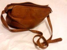 Boulder Ridge Leather Purse Crossbody Shoulder Bag