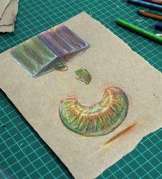 €du∆rdo √.- drawings, colored pencils-