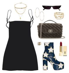 """""""#358"""" by meyerlina ❤ liked on Polyvore featuring Vetements, Chanel, Balenciaga, Yves Saint Laurent and Cartier"""