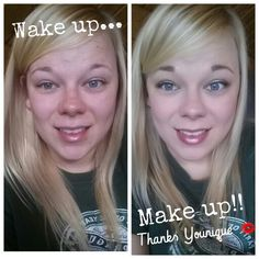Ta-daaaaa !!! My wake up to make up transformation! I hope you ladies out there are rocking your younique products and LOVING them just as much as meeeee  ‪ If you don't have any younique products you need to get your hands on some  https://youniqueproducts.com/amielasalvia