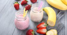 Recette de Smoothie brûle-graisse fraise et amande. Facile et rapide à réaliser, goûteuse et diététique. Ingrédients, préparation et recettes associées.