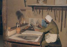 Bevagna's Medieval Workshops - painting