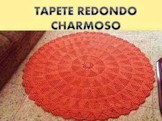 TAPETE REDONDO ESTRELA - YouTube