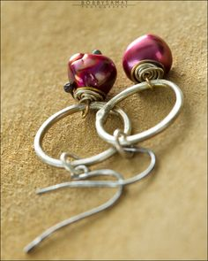 Sterling SIlver & Freshwater Pearl Earrings - Jewelry by Jason Stroud.