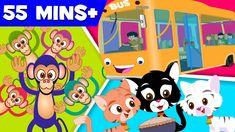 Five little monkeys | Three Little Kittens | wheels on the bus |  nursery... #rhymes #nurseryrhymes #kids #children #rhymesforchildren #kidssongs
