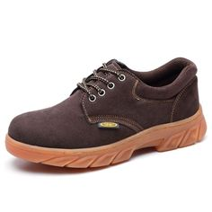New Women's Faux Leather Steel Toe Work Boots Footware Factory Work Safety Shoes
