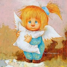 VK is the largest European social network with more than 100 million active users. Angel Pictures, Art Pictures, Christmas Angels, Christmas Art, Angel Drawing, Fable, Cute Paintings, Fun Illustration, Cross Stitch Pictures