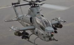 US Marine Corps AH-1Z attack helicopter. Bell Photo