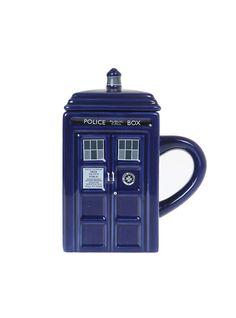 Doctor Who TARDIS Figural Mug,