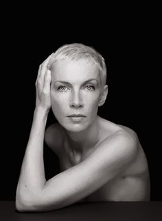 Annie Lennox. I think this woman is stunning and talented!