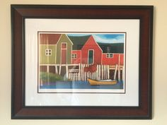 Titled South Shore by Carol Anne Shelton - Limited Edition Artist's Proof H. Framed - Signed by Artist - x including frame Art Painting, Carole, Anne, Painting, Painting Prints, Art, Prints