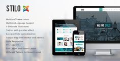 Stilo – is clean One page Joomla Template. It is great, professional and easy to use template. You can use it for, business, Photo Studio, Freelancers, Portfolio Theme, Creative Agency etc.