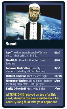 God Trumps Sunni card