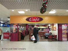 Cafe at Belle Vale Shopping Centre Liverpool