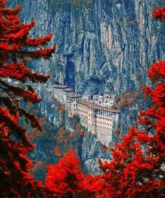 Sumela Monastery, Turkey From @explorationfever on Instagram Photo by @cemilsahin
