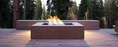 1000 images about modern firepit on pinterest fire for Concreteworks fire table