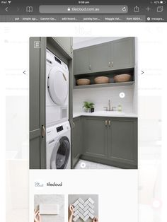 Stacked Washer Dryer, Washer And Dryer, Laundry, Home Appliances, Ideas, Laundry Room, House Appliances, Washing And Drying Machine, Appliances