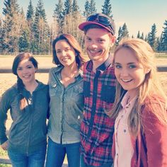 Shooting some behind the scenes footage for Heartland #Season9