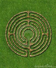 Make a simple finger labyrinth with easy-to-access materials and use Labyrinths Mazes Garden Designs Html on