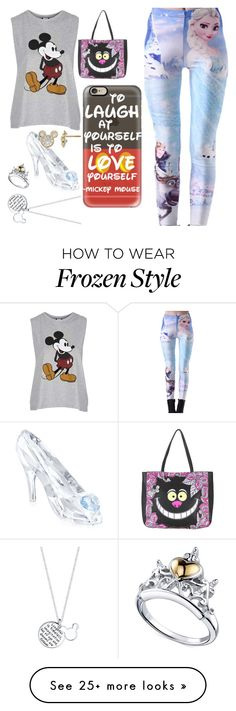 """""""Disney"""" by tidewisher516 on Polyvore featuring Topshop, Casetify, Disney and Swarovski"""