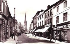 Looking towards St Thomas (Top Church). West Midlands, St Thomas, Vintage Postcards, Birmingham, Street View, History, Country, Places, Ephemera