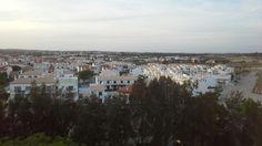 As casas brancas em Altura Algarve