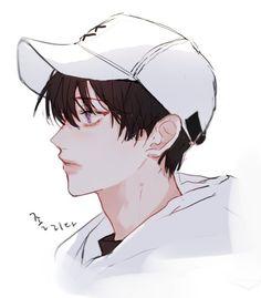 adlı kullanıcının anime panosundaki pin anime art, anime ve cute Oc Manga, Manga Art, Manga Anime, Anime Art, Korean Anime, Korean Art, Handsome Anime Guys, Cute Anime Guys, Boy Drawing