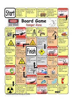 Board Game - Danger Zone