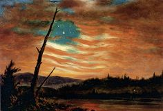 Our Banner in the Sky (ca. 1861) by Frederic Edwin Church