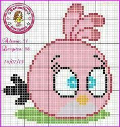 Chicken Cross Stitch, Cross Stitch Baby, Cross Stitch Embroidery, Cross Stitch Patterns, Angry Birds, Filet Crochet Charts, Iron Beads, Baby Dragon, Perler Bead Art