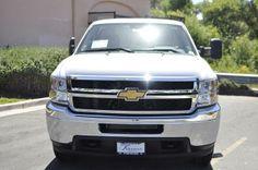 2013 Chevrolet Silverado2500HD WorkTruck 4x2 Work Truck 2dr Regular Cab LB Pickup 2 Doors White for sale in Temecula, CA Source: http://www.usedcarsgroup.com/new-chevrolet-silverado_2500hd-for-sale