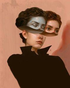 Turkish Illustrator Creates Surreal Artworks That Will Haunt Your Broken Heart surrealista Meet The Enigmatic Aykut Aydoğdu Illustrations Art Sketches, Art Drawings, Surreal Artwork, Surreal Portraits, Illustrator, Psy Art, Portrait Art, Digital Portrait, Digital Art