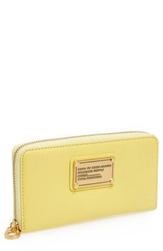MARC BY MARC JACOBS 'Classic Q - Vertical Zippy' Wallet available at #Nordstrom